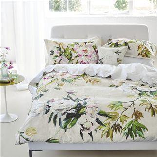 Floreale Grande Natural Bed Linen
