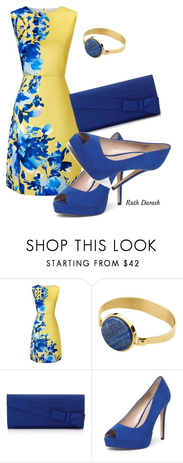 """""""Cute Summer outfit All House of Fraser"""" by ruth-darash ❤ liked on Polyvore featuring Precis Petite, Dyrberg/Kern and Dorothy Perkins"""