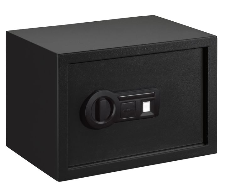 Stack-On Large Safe with Biometric Lock, Black