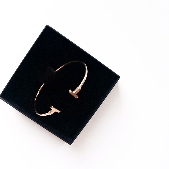 T bracelet minimal collection www.wishbone.pl