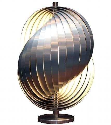 Verner Panton Moon Table Lamp By Verner Panton