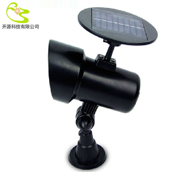 Free Shipping 3W Light Spike Solar Lawn Lamp Led Garden Solar Light Lamp  Lantern Solar Led