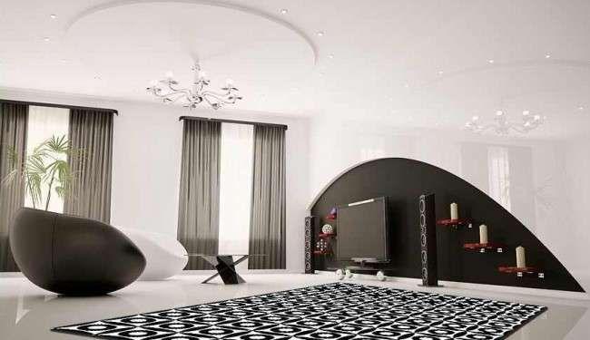 10 idee per il colore delle pareti in soggiorno - Parete Modern ...