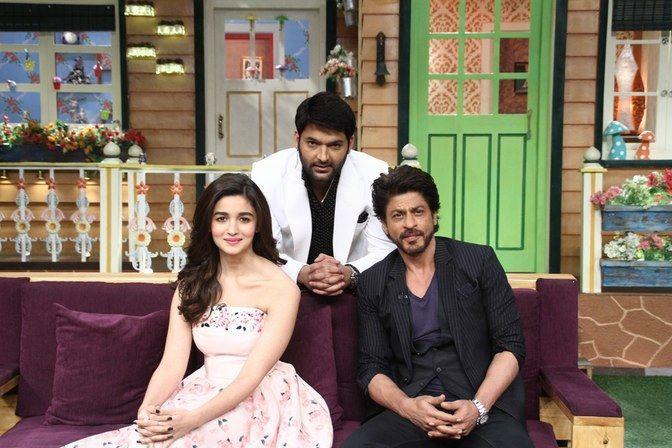 Shah Rukh Khan and Alia Bhatt Promotes Dear Zindagi on The Kapil Sharma Show