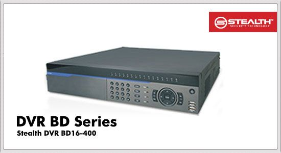 stealth digital video recorder BD series bd16-400