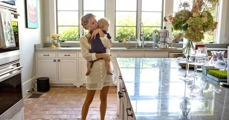 Kristin Cavallari and her husband, Jay Cutler, invited Elle into their Nashville home — see their cute family photos with sons Camden and Jaxon