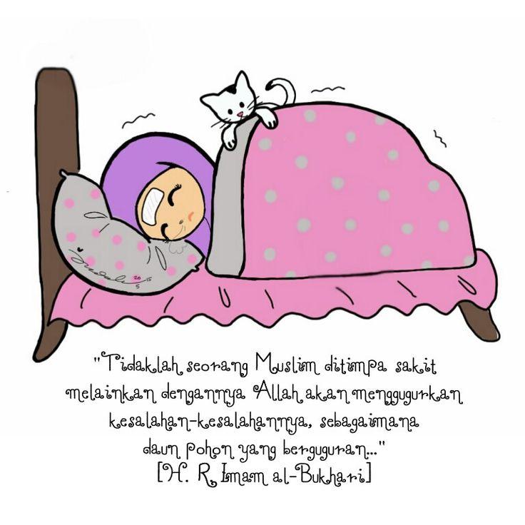 Hadith when we're sick.