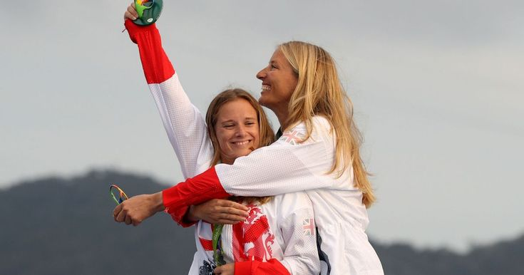 Hannah and her crew partner Saskia Clark took home gold at Rio 2016 in the 470 women's class