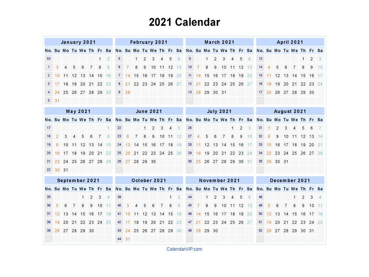 Print 2021 Calendar by Month Free for Time Management di 2020