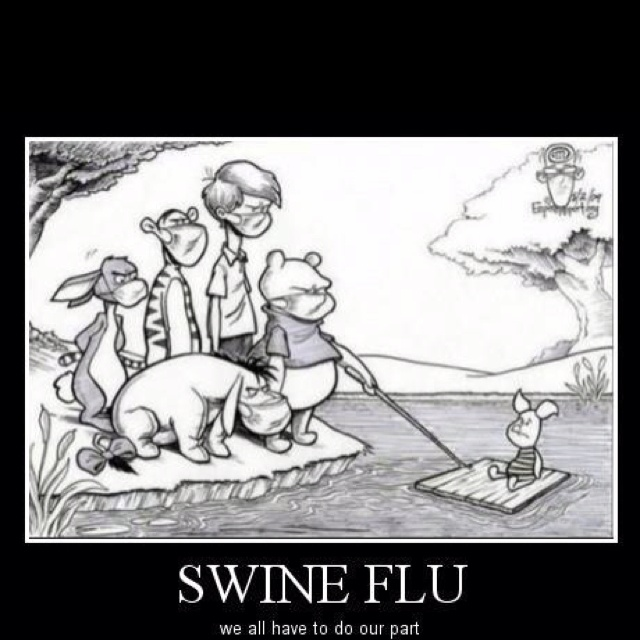 Poor piglet!: Laughing, Swine Flu, Swineflu, Giggl, Funny Stuff, Hilarious, Disney, Smile, Poor Piglets