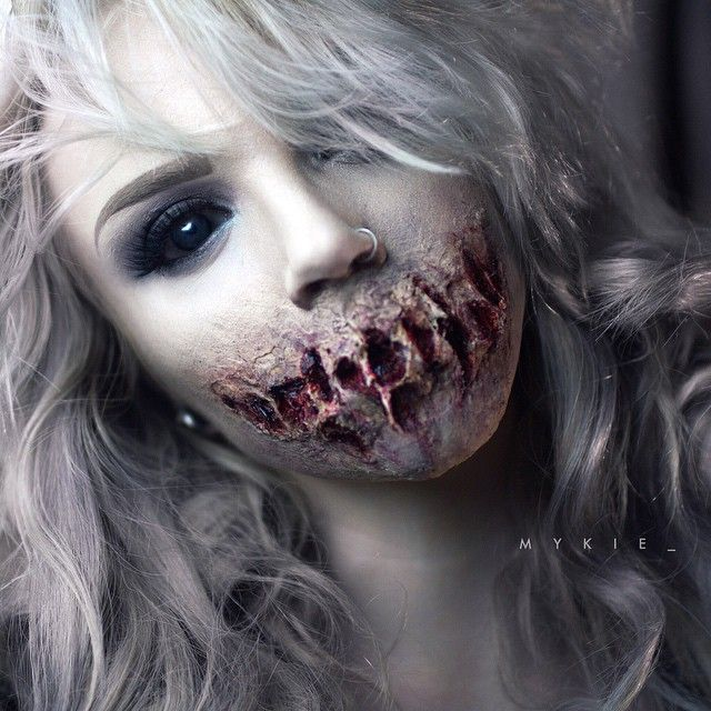 I can be zombie with cool mouth