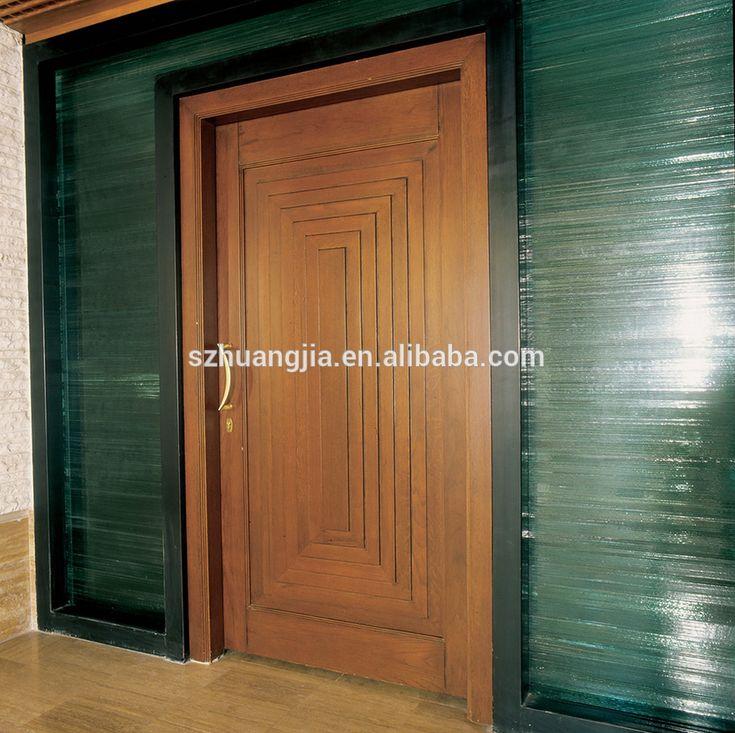 Door Design Simple Lowes Exterior Teak Wooden Single Main Doors Designs  Buy: Simple Lowes Exterior
