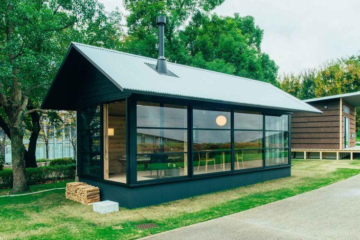 Kaum größer als eine Garage: Die neuen Fertighütten von MUJI