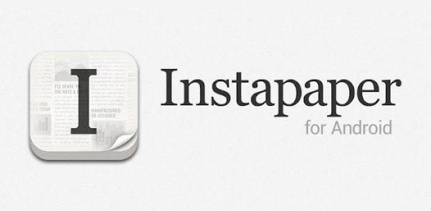 Instapaper arriva su Google Play