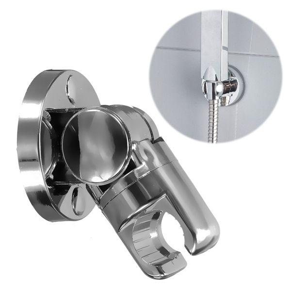 ABS Bathroom Wall Mounted Adjustable Shower Head Holder Bracket