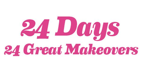 To win in our 24 Days, 24 Great Makeovers competition, just like us and register here: http://bit.ly/1sa4KkT
