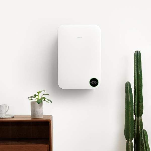 Intelligent Silent Wall Air Purifier In 2020 Air Purifier Small Insects Wall Mount