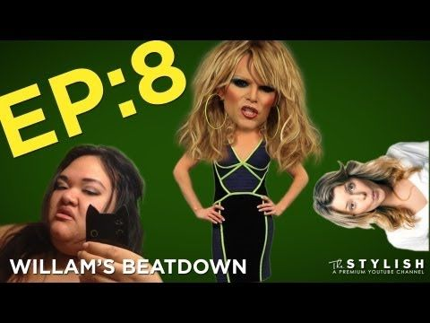 """Willam's Beatdown Episode 8! On this episode, Willam takes on Hannah Hart of """"My Drunk Kitchen,"""" gets a Holiday makeup tutorial from DailyGrace and goes Ganguro style with Glowpinkstah. Your world will never be the same."""