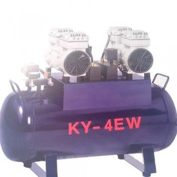 Dental One to Four Silent Oilless Air Compressor