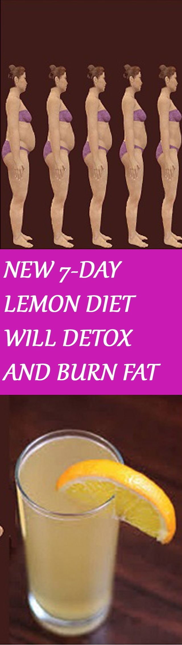 NEW 7-DAY LEMON DIET WILL DETOX AND BURN FAT Click the image for more instructions :D #weightlossbeforeandafter