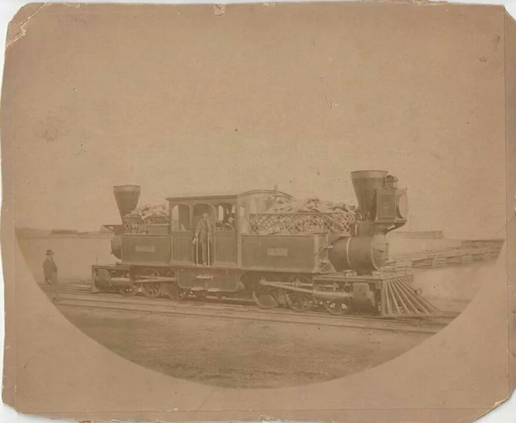 From the Toronto, Grey and Bruce railroad pre 1883