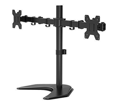 """1home - doble brazo soporte de escritorio para pantalla plana LCD LED Monitor ordenador 13 """"-27"""" Protector de TV #home #doble #brazo #soporte #escritorio #para #pantalla #plana #Monitor #ordenador #Protector"""