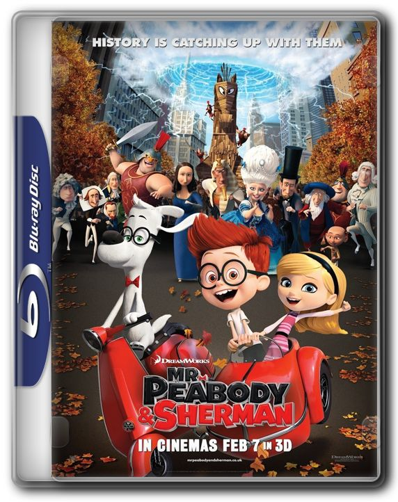 PSPCollections - Free to Download: Mr. Peabody & Sherman 2014 BluRay 720p 700MB ShAaNiG