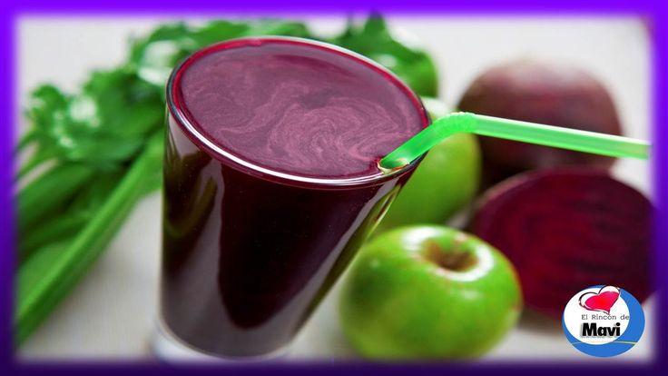 Receta de jugo natural para limpiar la sangre y aumentar la inmunidad