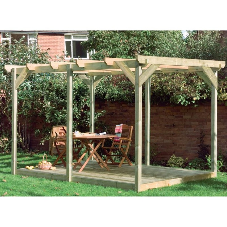 1000 images about pergola flower ideas on pinterest for Cheap decking boards b q