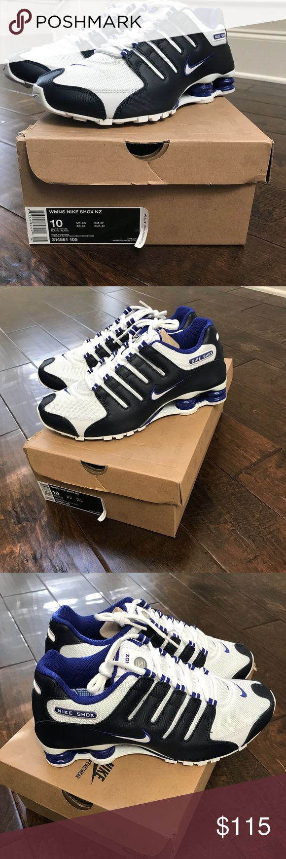 Nike Shox NZ Brand new women Nike shox purchased but never used. Size 10 Nike Shoes Sneakers