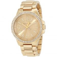 Juicy Couture Ladies' Gold Plated Jetsetter Watch 1900959