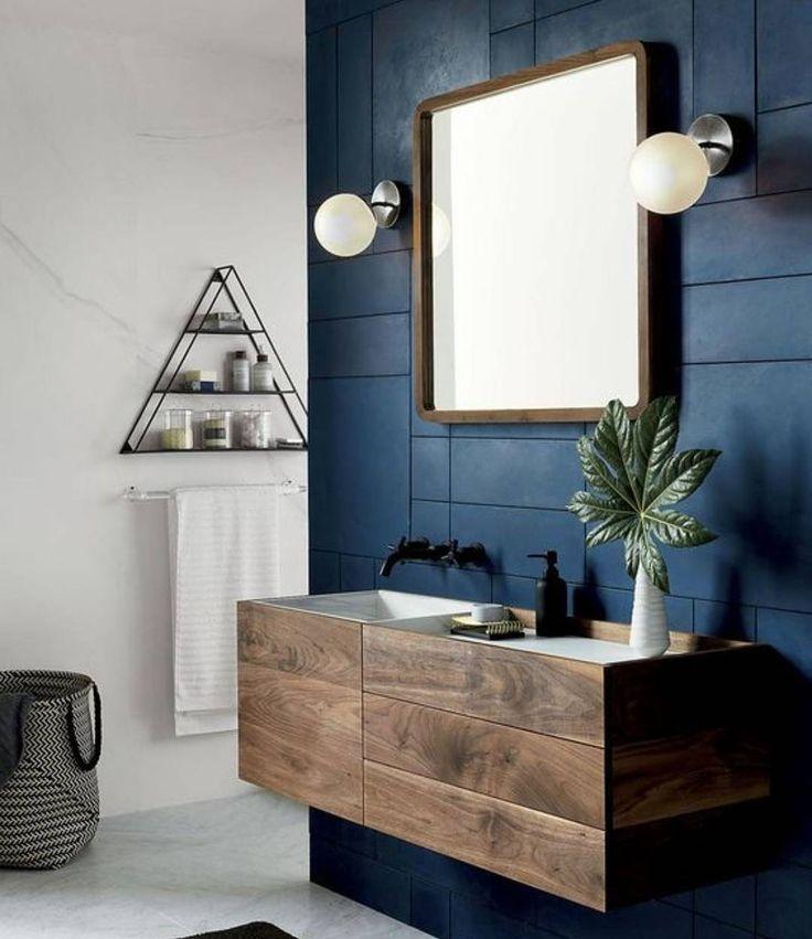"""C'è chi lo definirebbe uno stile prettamente """"maschile"""" ma noi andiamo oltre gli stereotipi e lo adattiamo a tutti i generi! I colori caldi scuri e le superfici ruvide se sapientemente combinati aggiungono bellezza e eleganza alla casa generando lidea di relax ed una sensazione di fresco e pulito. E voi che ne pensate di questa combinazione? Scopri le altre idee su http://ift.tt/2hbGm18  #blue #wood  #casa #art #nature #interiordesign #inspiration #d_signers #living #Sicilia #design #Sicily…"""