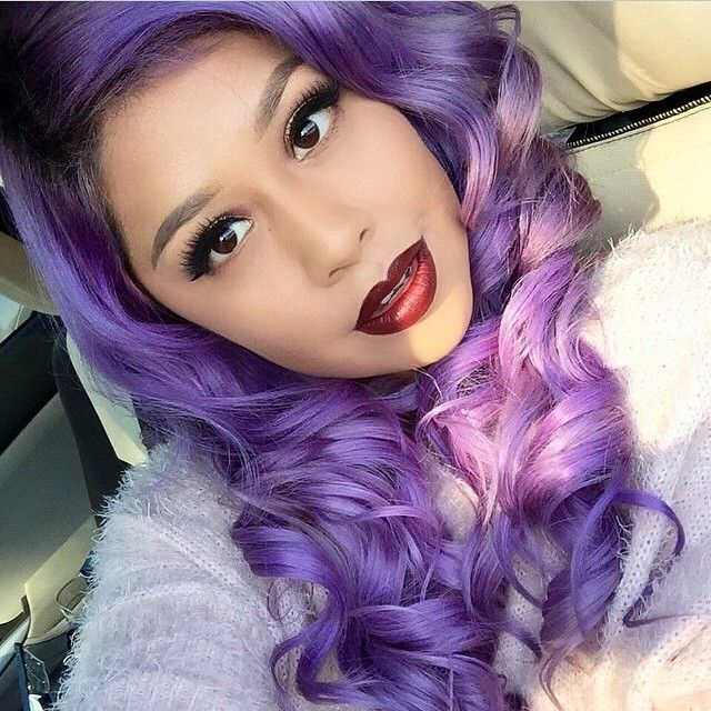 You Can Buy Straight And Curl Your Own For Flexibility Of Both Styles Wavy Hair ExtensionsPurple