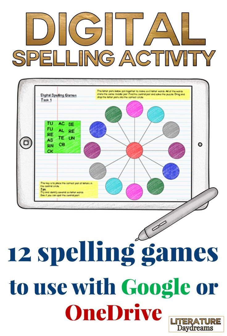 A Great Collection Of Unusual Spelling Activities Or Games That Challenge Students To Improve T Spelling Activities Digital Learning English Teaching Resources