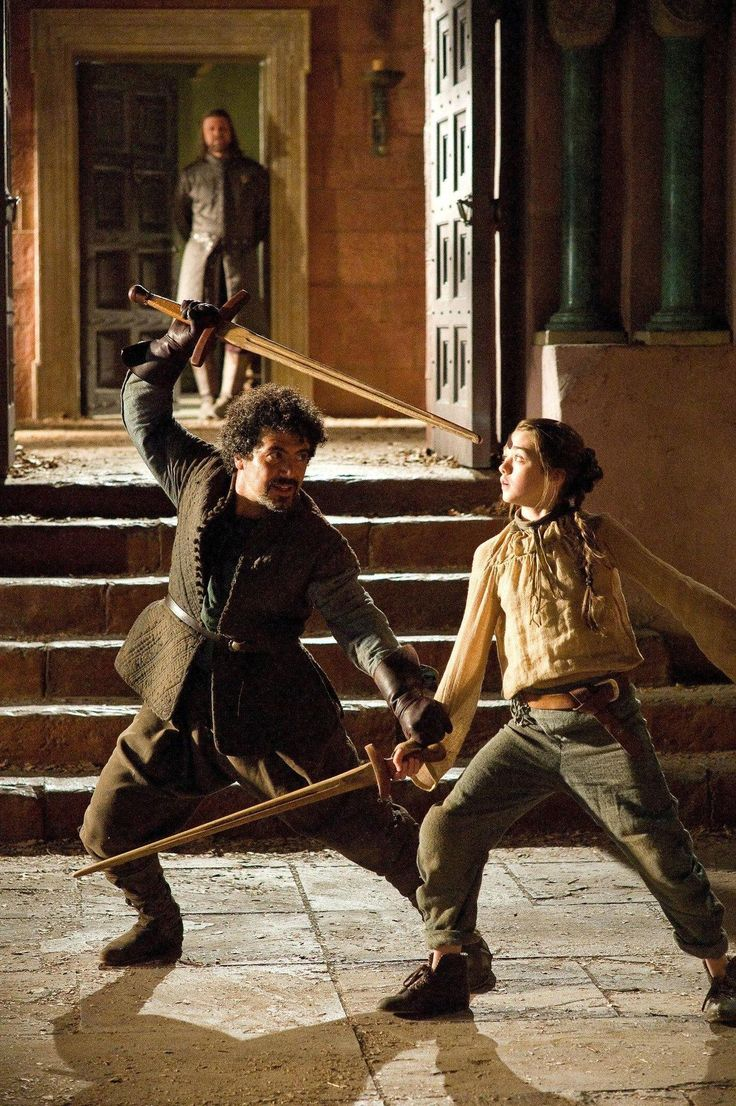Syrio Forel's sword fights are the best