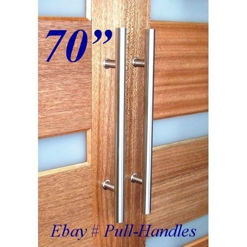 70 Modern Premium Door Handles Pull Push Stainless Steel Entrance Entry Nh Pinterest And Doors