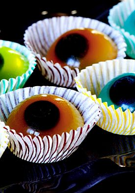 top ten halloween cocktails including jello eyeballs which could be sans alcohol - Halloween Themed Alcoholic Shots