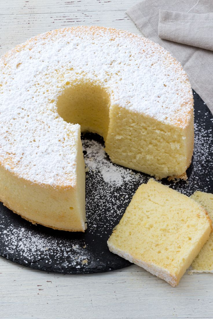 Chiffon cake: più soffice di una nuvola. Assolutamente da provare!