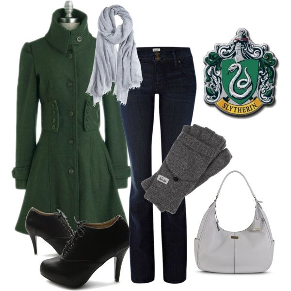 Slytherin Fall Day Perfect to get you in the mood for Halloween and still look fashionable