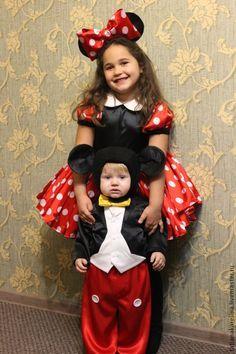 Карнавальные костюмы ручной работы. Ярмарка Мастеров - ручная работа. Купить Новогодний костюм Микки Маус Мальчик. Handmade.