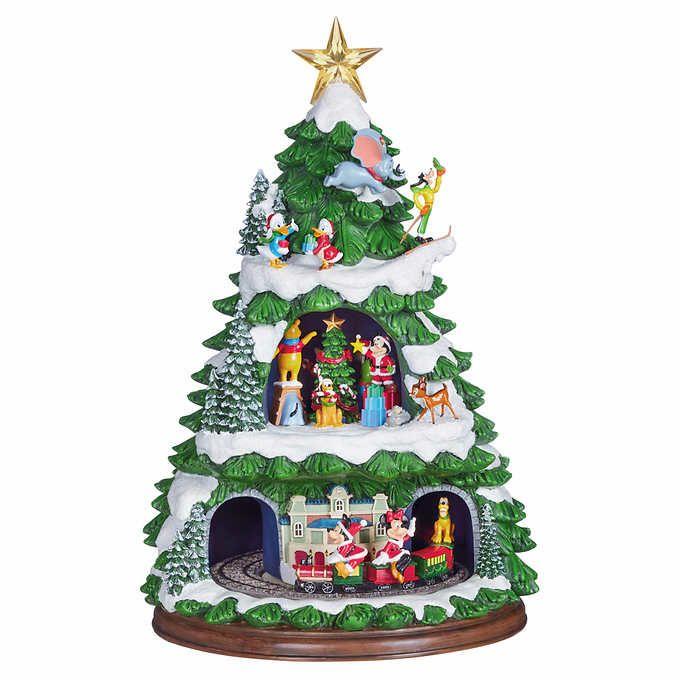 Disney Animated Tree With Music Disney Animation Holiday Music Disney Favorites