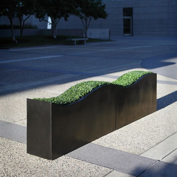 Add interest to your patio with the unique Swell planter. Shop now at http://www.urbilis.com/swell-planter/