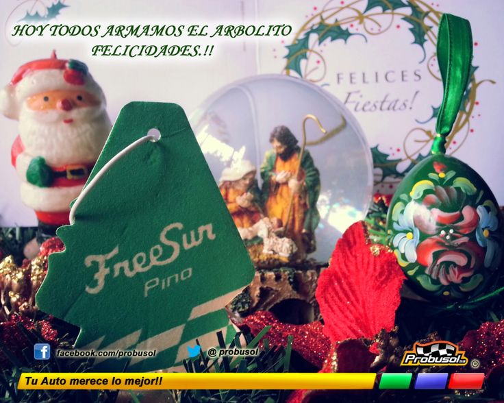 Hoy todos armamos el arbolito!! Feliz 8 de diciembre les desea Probusol s.a. Felicidades
