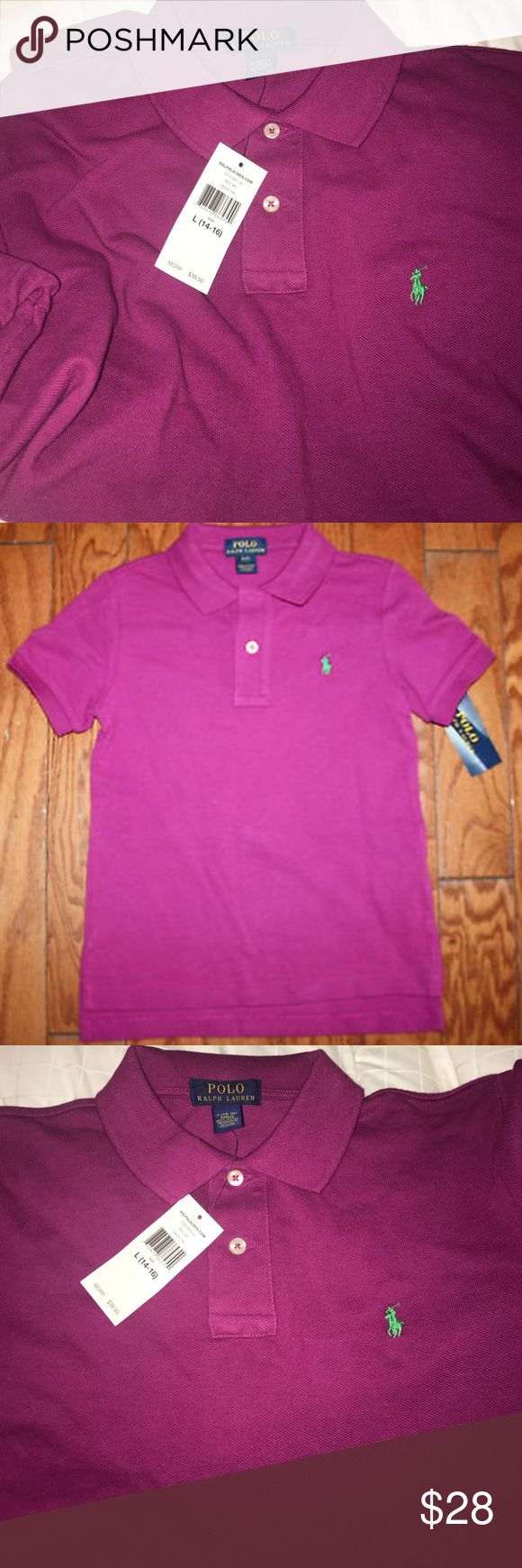 Polo Ralph Lauren Pique Polo Short-sleeve cotton mesh polo shirt featuring: ribbed collar and armbands two-button placket polo player embroidery on the chest side-vented hem Imported., Color: White, Material: Mesh,Cotton, Pattern:Embroidery Polo by Ralph Lauren Shirts & Tops Polos
