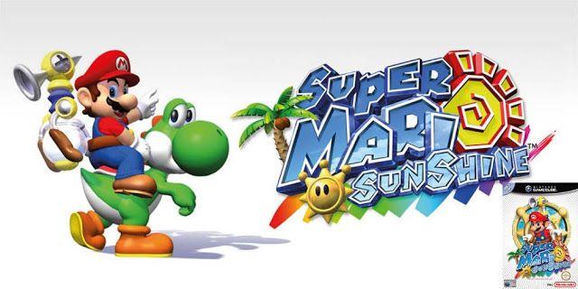 Descargar Super Mario Sunshine Rom Gamecube Super Mario Juegos De Mario Juegos Super Mario