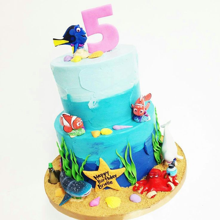 Pin by Pat Korn on Cakesss | Finding dory cake, Dory cake ...