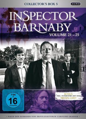 Inspector Barnaby - Collector's Box 5 (Volume 21-25) - 4.5/5 Sterne - DeepGround Magazine