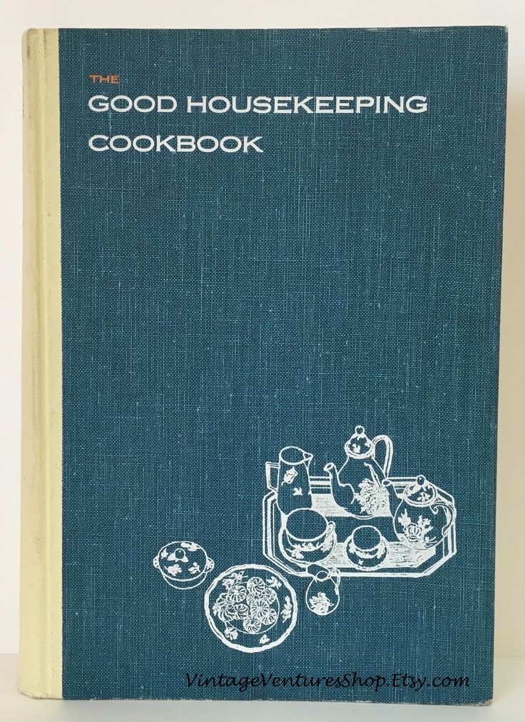 The Good Housekeeping Cookbook 1963 at #VintageVenturesShop #Etsy to buy click image #VintageKitchen #VintageCookBook #CookBook  #Cooks #Chefs #Foodies #CookingLight #LightRecipes #LightMeals #GoodHousekeeping #GoodHousekeepingCookbook #MidCenturyModernKitchen #GiftForCook #VintageBride