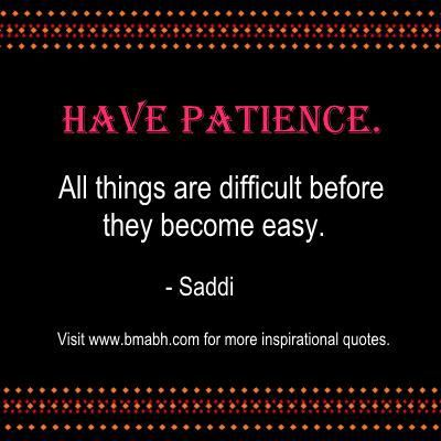Best Inspirational Patience Quotes And Sayings - bmabh.com