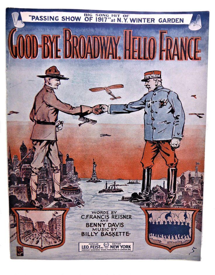 All Music Chords portland sheet music : 13 best WW1 Books & Sheet Music - Antiques images on Pinterest ...